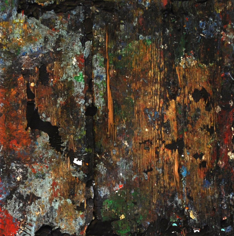 Abstrakt 21 | Acryl, Mixed Media | 40 x 40 cm