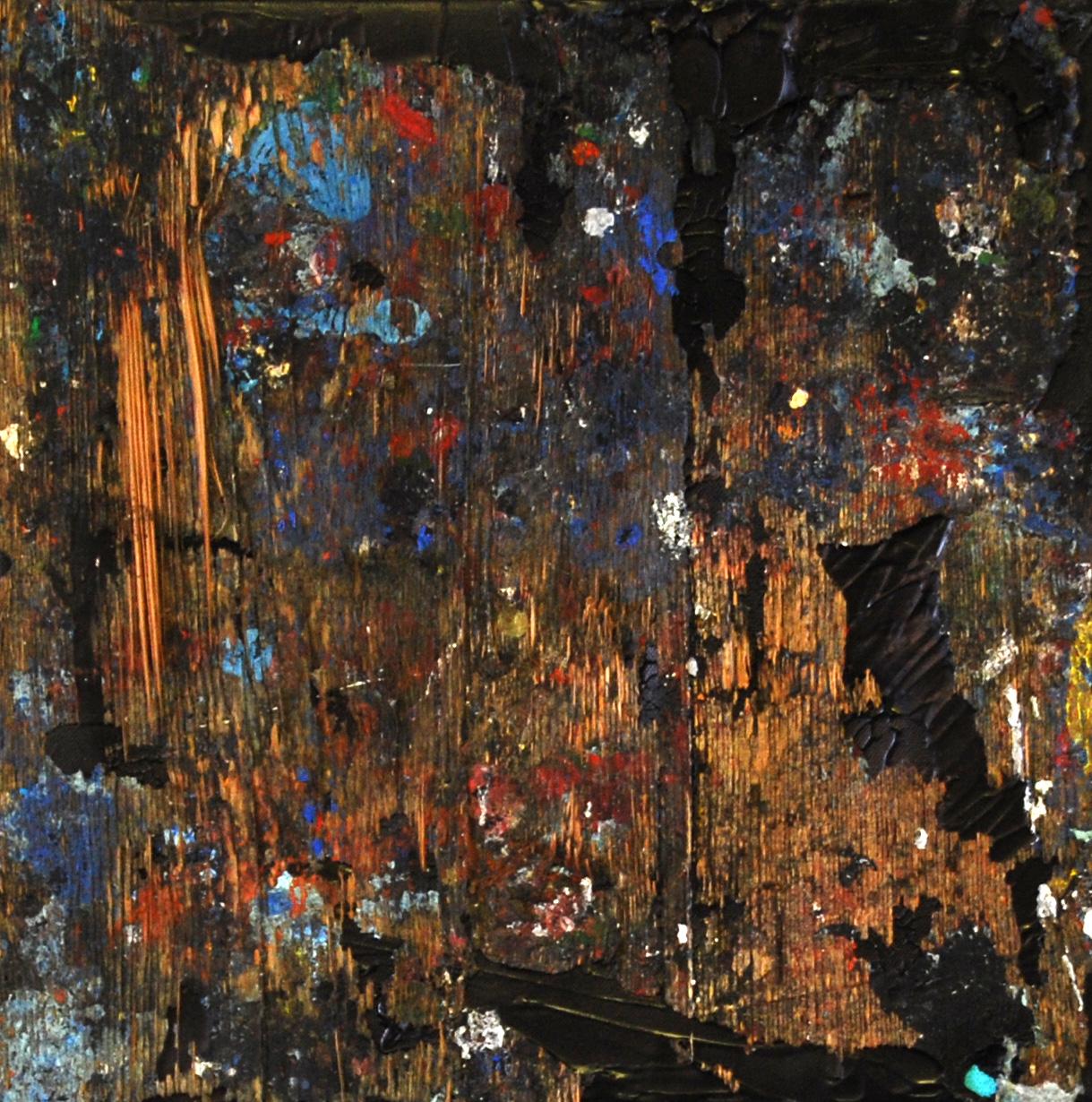Abstrakt 22 | Acryl, Mixed Media | 40 x 40 cm