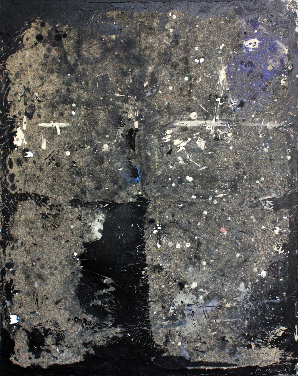 Abstrakt 1 | Acryl, Mixed Media | 80 x 100 cm