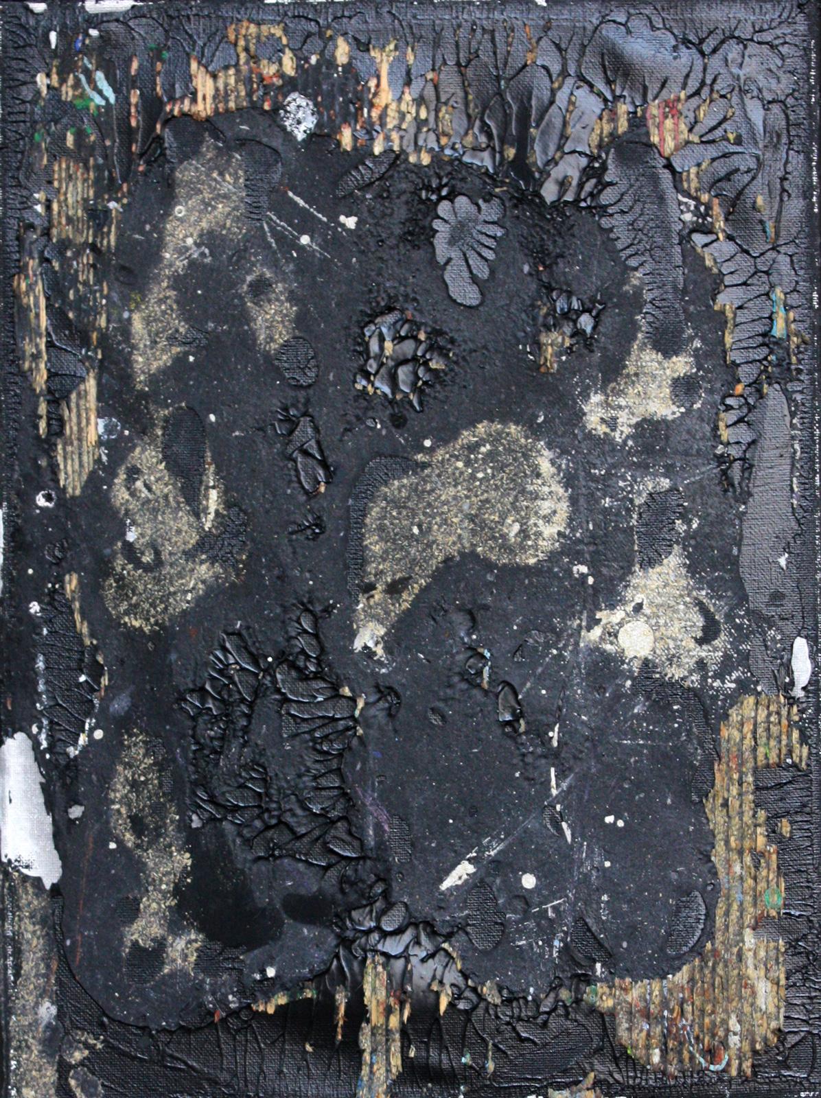 Abstrakt 8 | Acryl, Mixed Media | 30 x 40cm