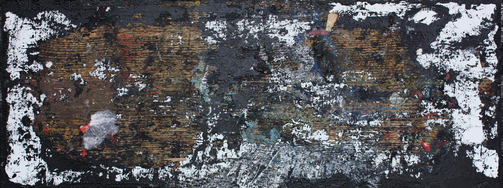 Abstrakt 9 | Acryl, Mixed Media | 80 x 30 cm